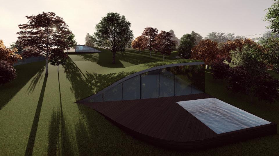 зелений дах на приватних будинках