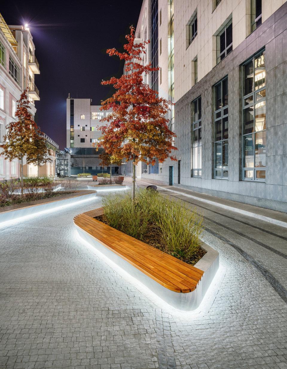 освітлення в ландшафтному дизайні