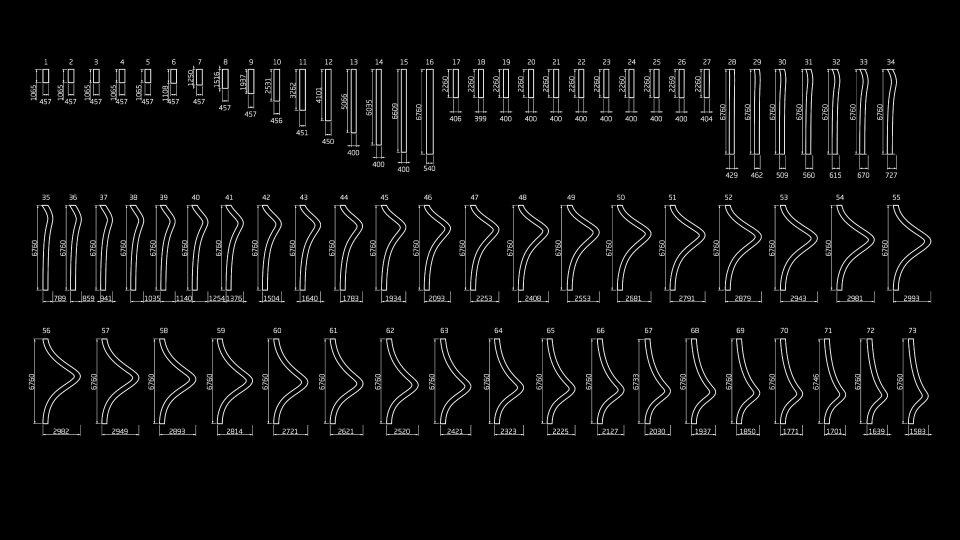 креслення параметричного фасаду у києві