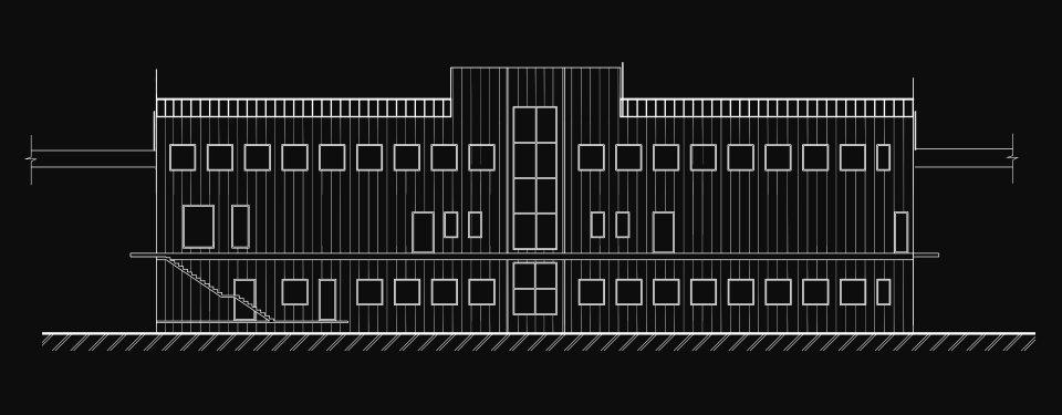 схема фасаду заправки - параметрика в україні